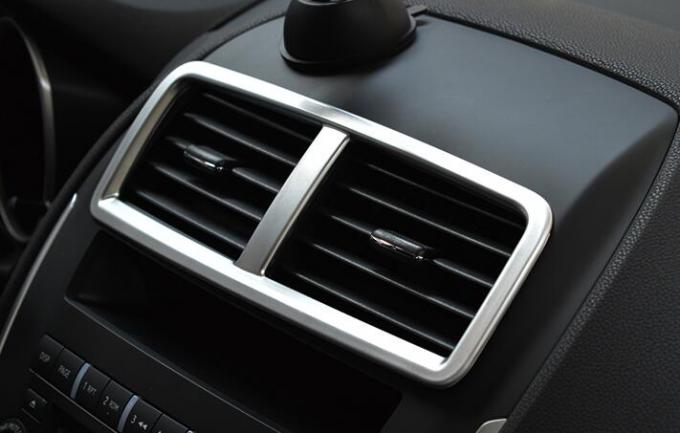 For Mitsubishi ASX 2013-2015 ABS Matted Interior Air Vent Cover Trims / Chrome Auto Accessories