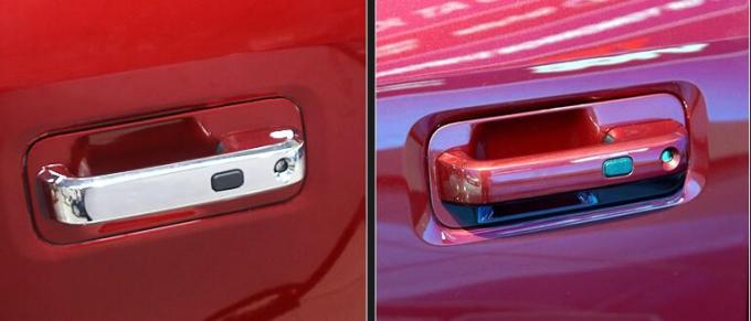 Smart Ford Chrome Door Handle Covers Three Layers Chrome Plated Surface Finish