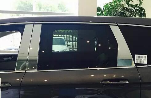 Ford EDGE 2015 Chrome Window Trim Rust Resistance Personalized Design