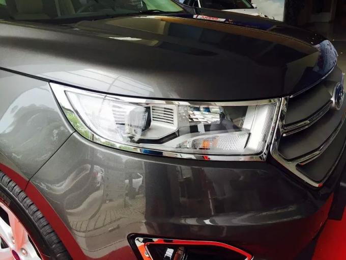 Ford EDGE 2015 Chrome Light Covers Headlamp Trim Double Sided Adhesive Film