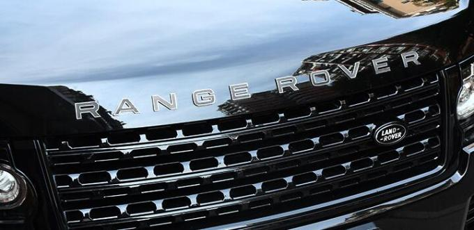 Land Rover Chrome Auto Accessories Zinc Alloy Material Front Hood Letters Badge