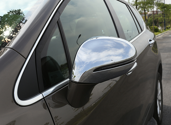 Car Side Mirror Cover / Chrome Mirror Covers For Buick Envision 2014 - On