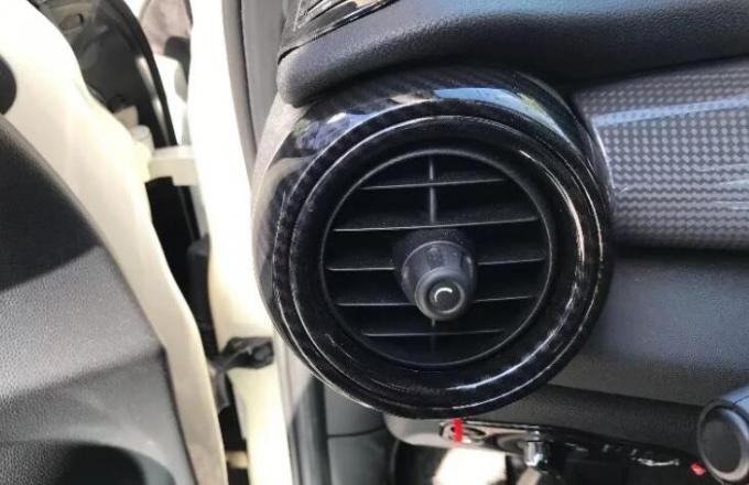 ABS Carbon Fiber Look Side Air Vent Covers / Side Air Flow For BMW MINI 2018