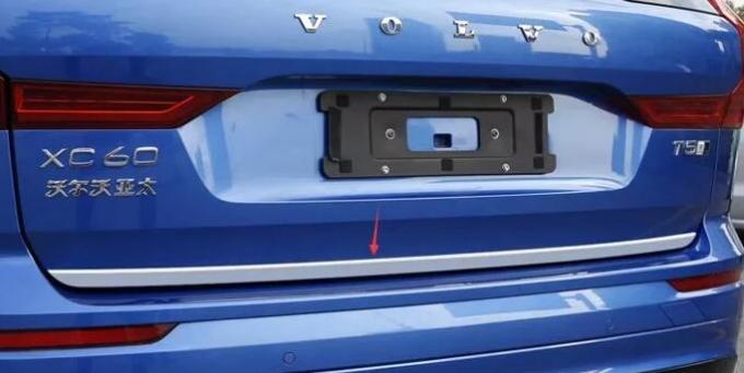 Volvo XC60 2018 Stainless Steel Auto Accessories Rear Trunk Lid Cover Trim