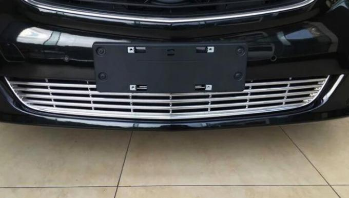 Decorative ABS Chrome Bottom Auto Grille Covers For Mercedes Benz V Class V260 2016 - 2018