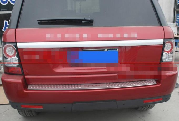 2006 - 2013 Range Rover Sport Rear Bumper Tread Plate Cover 304 Mirror Stainless Steel
