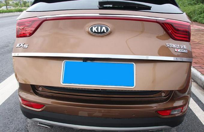 Stainless Steel Chrome Rear Trunk Tailgate Lid Molding Trim for Kia Sportage KX5 2016 - Up