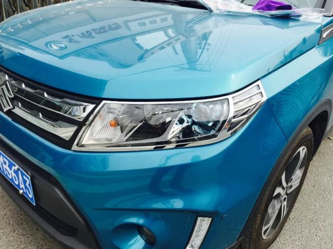 ABS Front Chrome Headlight Trim For Suzuki Vitara 2016 Car Light Cover