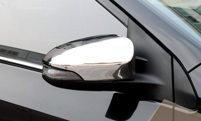 Durable Material Chrome Door Mirror Covers For Toyota Corolla 2014 Wing Mirror Cap