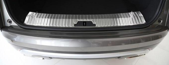 Inner Rear Bumper Sill Protector For Range Rover Velar 2018 Stainless Steel Auto Parts