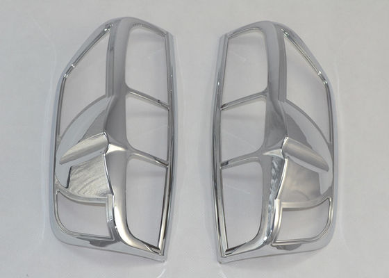 China ABS Chrome Auto Tail Light Covers For Nissan Navara D40 2005 - 2010 PICKUP supplier
