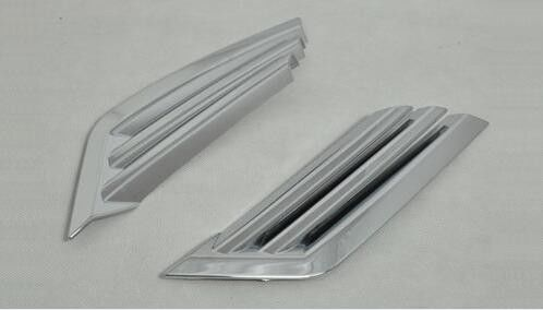 China ABS Chrome Fog Light Covers / Front Light Covers / Rear Fog Lamp Trims For Nissan Qashqai 2016 supplier