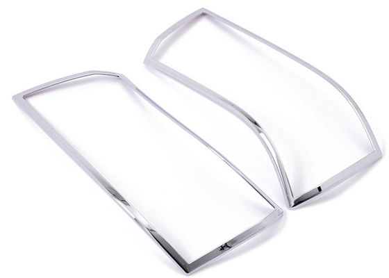 China Front Lamp Trim Chrome Light Covers Fit Land Rover Freelander 2 2012-15 supplier