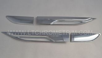 China ABS Chrome Side Air Vent Covers / Side Air Flow For Range Rover Evoque supplier