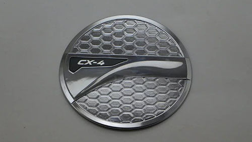China Mazda CX - 4 Fuel Door Cover Replacement Chrome Gas Tank Covers Simple Installation supplier