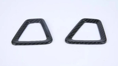 China Volvo XC60 Auto Interior Trim Parts Vent Covers Never Rust And No Fade Carbon Fiber Look supplier