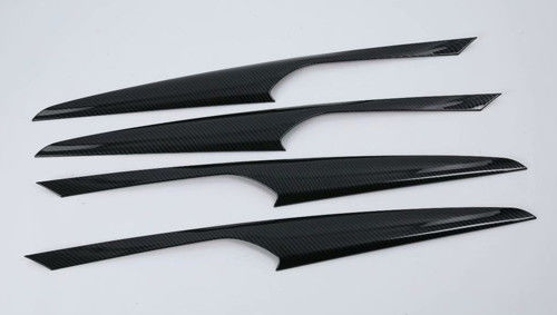 China Dry Carbon Fiber Interior Panel Trim For BMW X3 2018 Inner Door Upper Panel Cover supplier