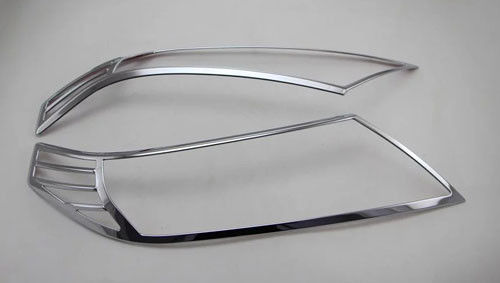 China ABS Front Chrome Headlight Trim For Suzuki Vitara 2016 Car Light Cover supplier