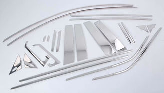 China Toyota C-Hr 2017 Steel Window Sill Trim / Car Chrome Window Framing Trim 24 PCS supplier