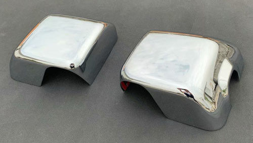 China Jeep Wrangler Rear View Mirror Covers For Cars Plated With 3 Layers Chromed supplier