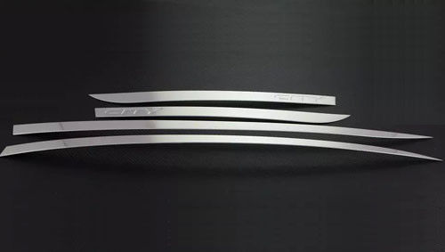 China Honda City 2015 Auto Body Molding Trim ABS Side Door Streamer Silver Color factory