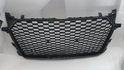 China Audi TT RS 2016 Auto Grill Covers Full Black ABS Chrome Grille Cover factory