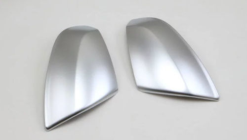 Audi Q7 2017  Chrome Door Mirror Covers Matte Silver Color ABS Plastic Material