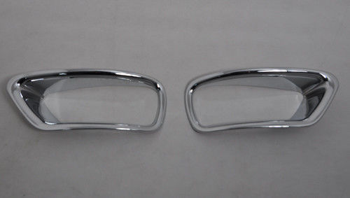 Rear Chrome Fog Light Bezel Covers For Dodge Journey JCUV 2013 2014 2 Pcs